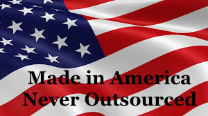 made in usa never outsourced